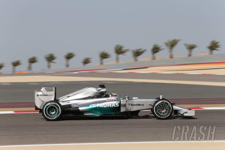 04.04.2014- free Practice 1, Lewis Hamilton (GBR) Mercedes AMG F1 W05