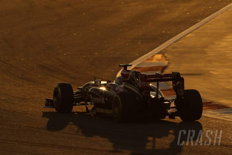06.04.2014- Race, Romain Grosjean (FRA) Lotus F1 Team E22