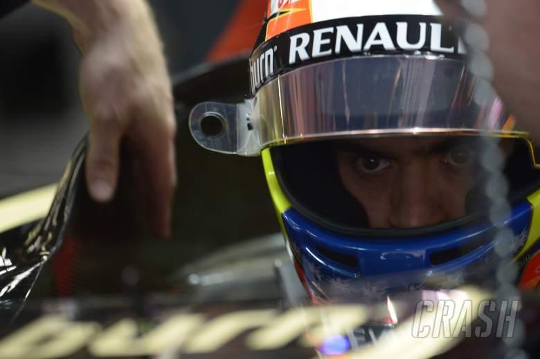 18.04.2014- Free Practice 1, Pastor Maldonado (VEN) Lotus F1 Team, E22