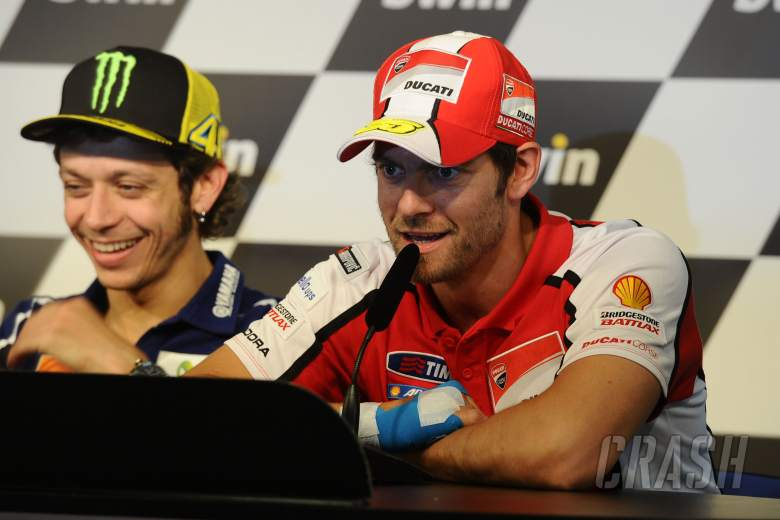 Crutchlow, Injured hand, Spanish MotoGP 2014