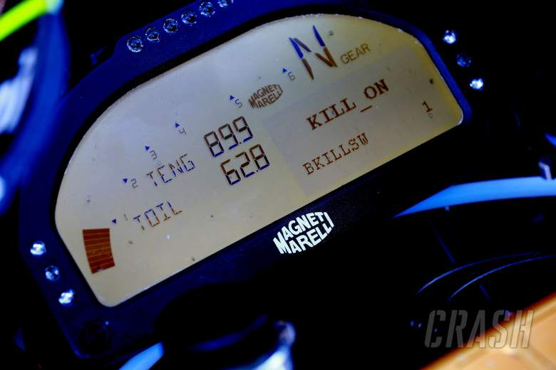 MotoGP set to debut dashboard messages