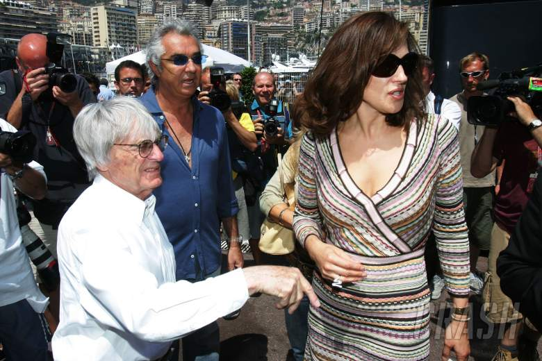 , - 26.05.2006 Monte Carlo, Monaco, . Bernie Ecclestone (GBR), Flavio Briatore (ITA), Renault F1 Team, T