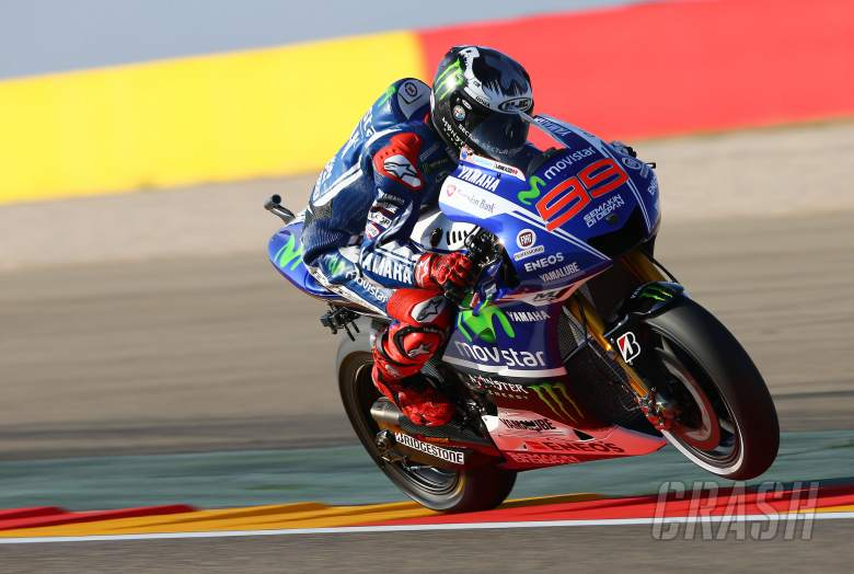 Lorenzo victorious as rain causes chaos at Aragon