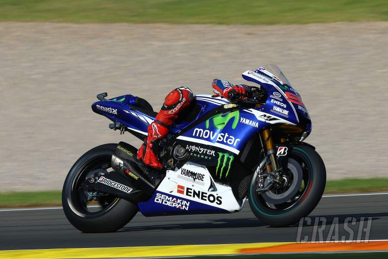 Valencia MotoGP test times - Monday (Final)