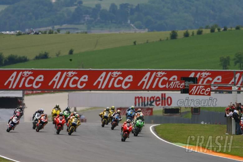 Start, Italian MotoGP Race 2006