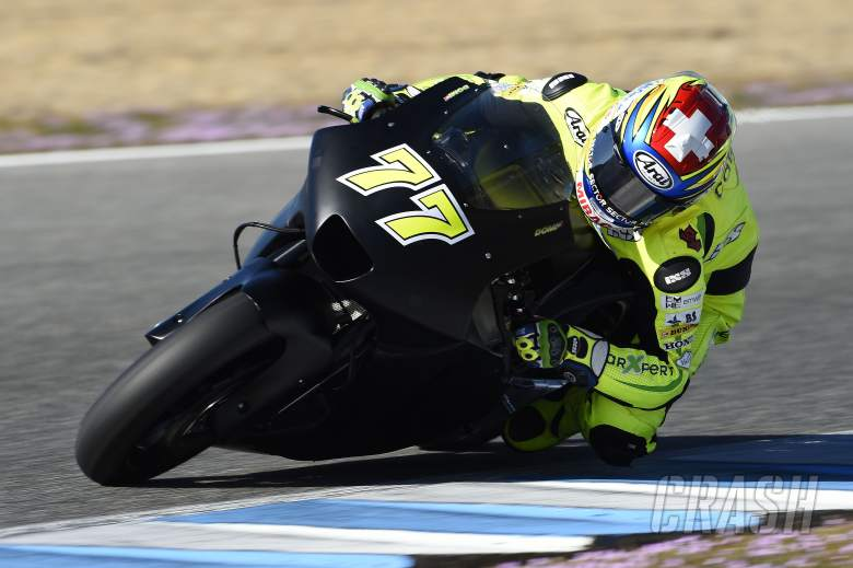 PICS: Aegerter starts 'Kawasaki' MotoGP test