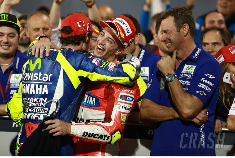 Emotional Iannone overwhelmed by Qatar podium