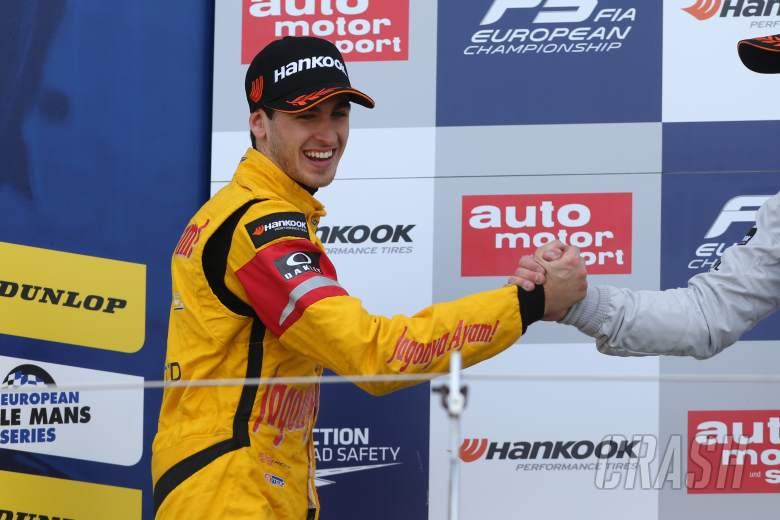 Prema signs Giovinazzi for inaugural GP2 bid
