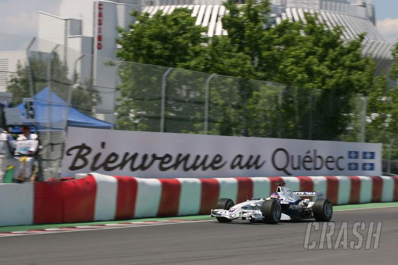 24.06.2006 Montreal, Canada, Jacques Villeneuve (CDN), BMW Sauber F1 Team, F1.06 - Formula 1 World C