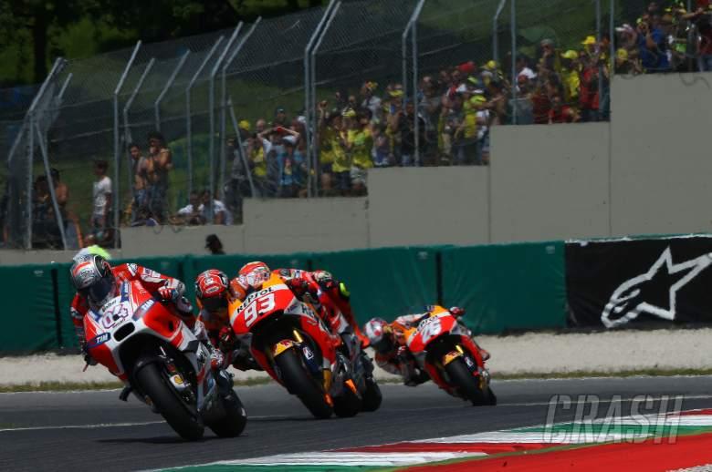 Broken sprocket ends disastrous Sunday for Dovizioso