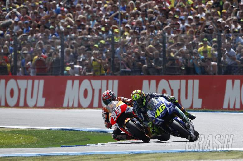 Rossi resists Marquez in tense Dutch TT