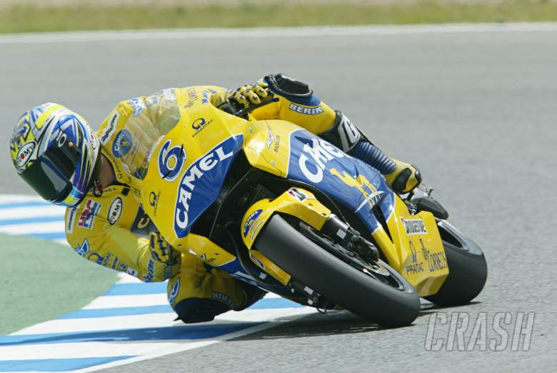 Tamada, Spanish MotoGP, 2004