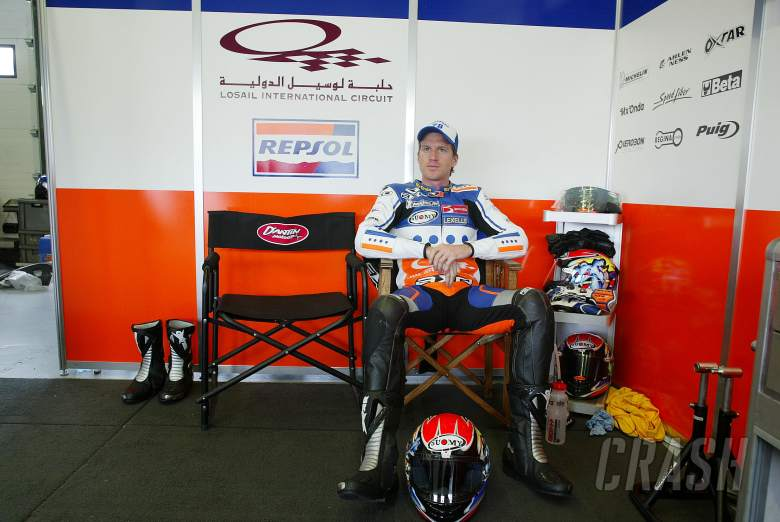 Hodgson, Spanish MotoGP, 2004