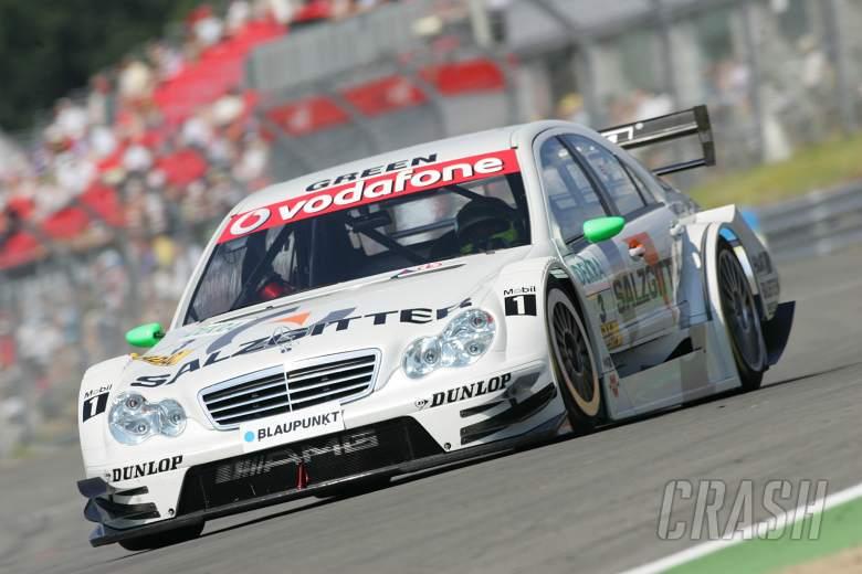 Jamie Green (GBR), HWA AMG-Mercedes C-Klasse 2006.DTM, Round 4, Brands Hatch, Kent, UK. 30th June -