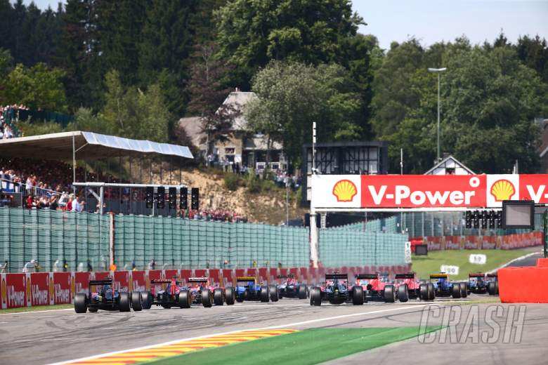 Belgian Grand Prix - Starting grid