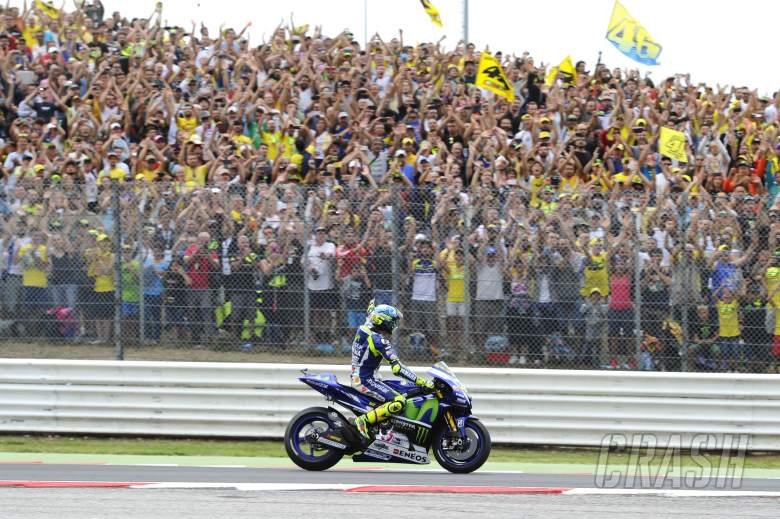 Rossi 'wanted to cry', but 'important result'