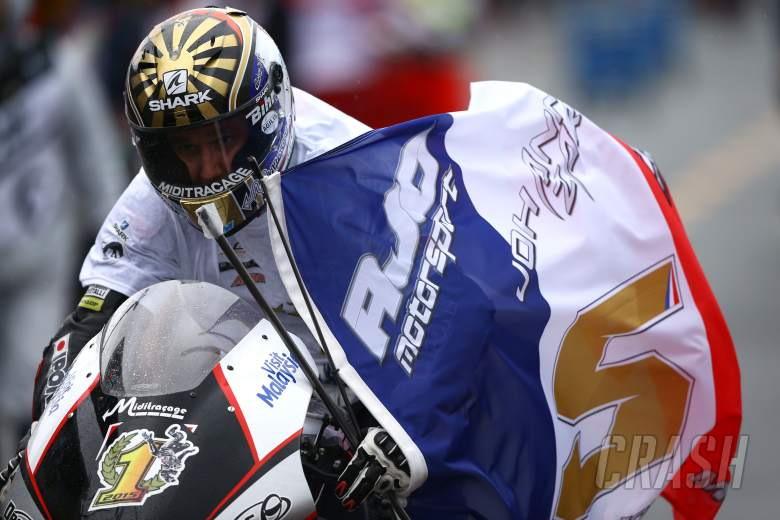 Moto2: Champion Zarco powers to damp Motegi win