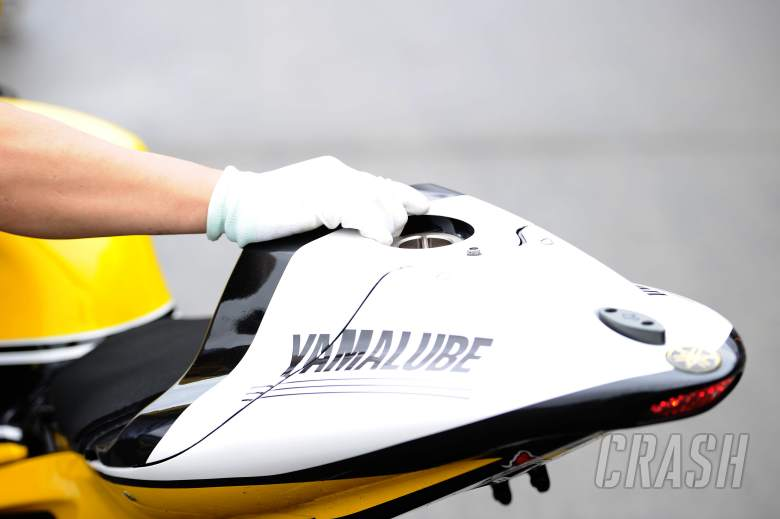 Why has Yamaha moved the M1 fuel tank?