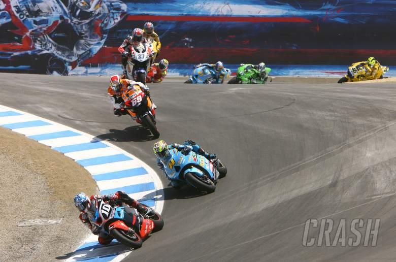 Roberts, Vermeulen, Hayden etc U.S. MotoGP, 2006