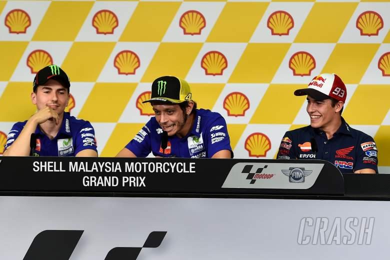 Rossi accuses Marquez of helping Lorenzo