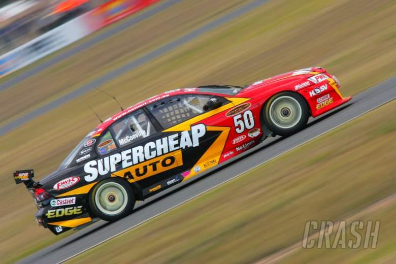 Cameron McConville, SuperCheap CommodoreRd 6 V8 SupercarsQld RacewayIpswichAust 23rd Jul 2006