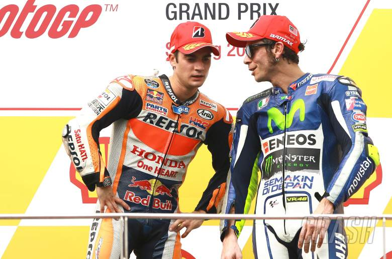 Rossi has contradicted himself, says Pedrosa