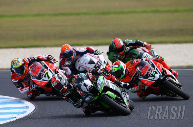 WSBK race highlights on ITV4