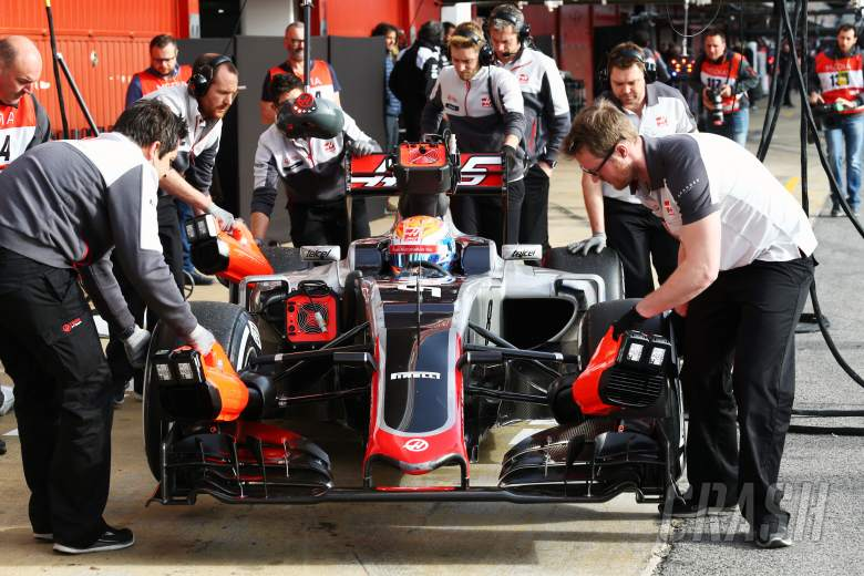 Grosjean impressed by Haas reaction
