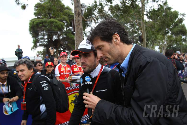 Webber: Alonso might not do the whole year...
