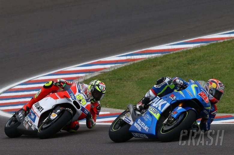 Vinales, Iannone react to Rins-Suzuki deal