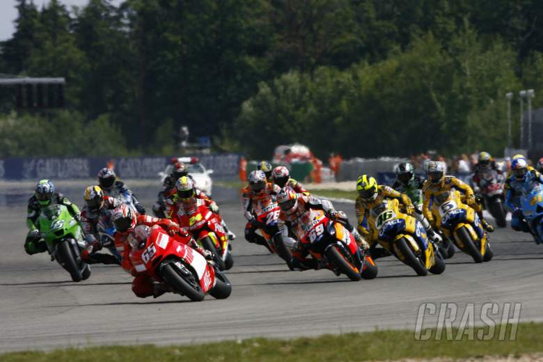 Start, Czech MotoGP Race, 2006
