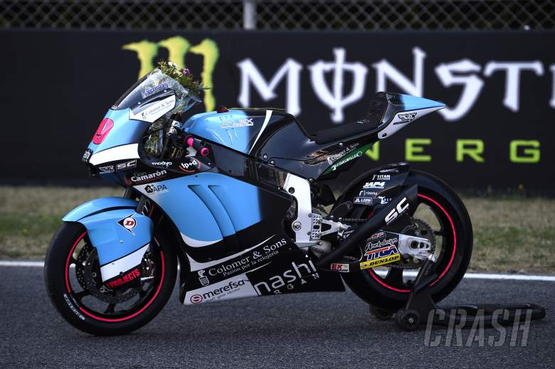 SAG: Braking, bump caused Luis Salom fall