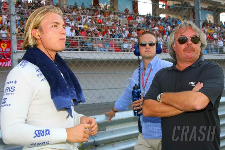 27.08.2006 Istanbul, Turkey, Nico Rosberg (GER), WilliamsF1 Team and Keke Rosberg (FIN) - Formula