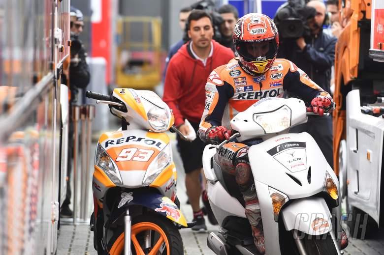 Marquez describes massive save, scooter snatch