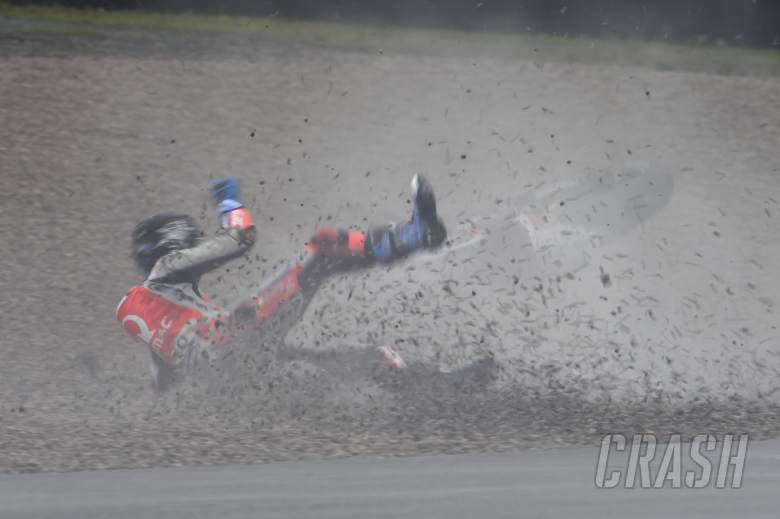 MotoGP: Taming the Waterfall, top speeds