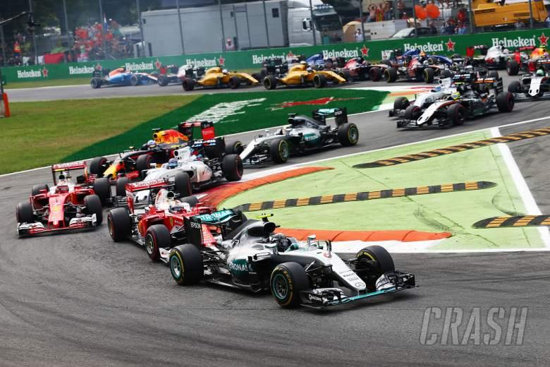 Italian Grand Prix - Race results