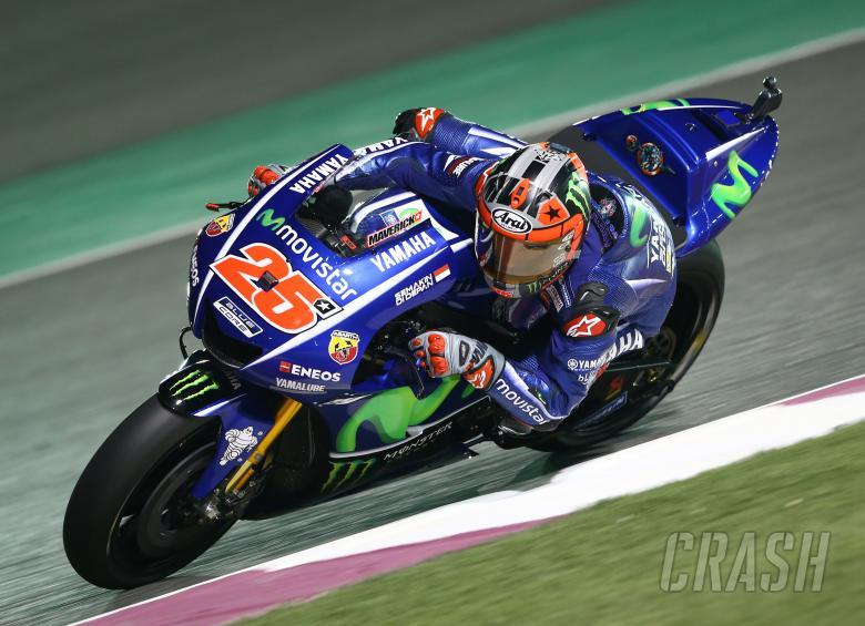 MotoGP Qatar - Grid line-up