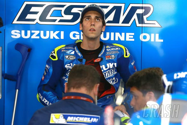 Alex Rins out with broken wrist