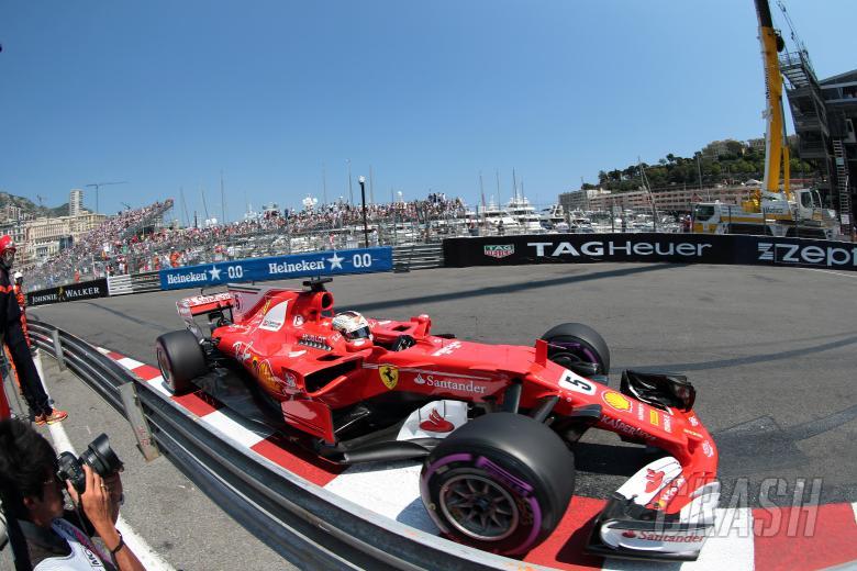 27.05.2017- Qualifying, Sebastian Vettel (GER) Scuderia Ferrari SF70H