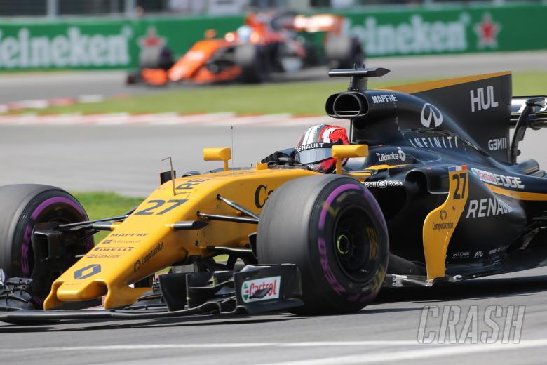 F1: 11.06.2017- Race, Nico Hulkenberg (GER) Renault Sport F1 Team RS17