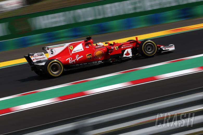 Vettel relishing prospect of six-way Hungarian GP fight
