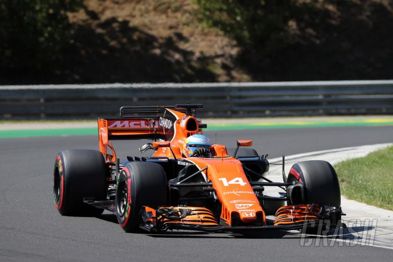 'P7 is nice, but I've had better birthday gifts!' - Alonso