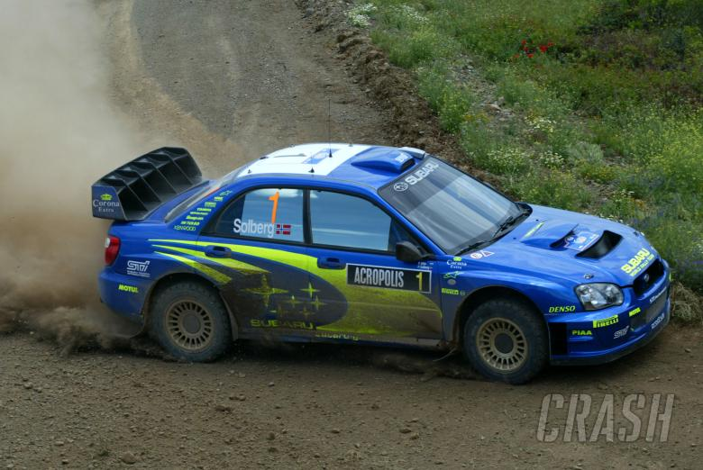 , - Petter Solberg / Phil Mills - Subaru Impreza WRC04