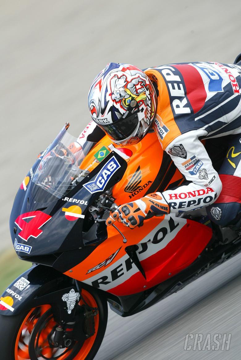 Barros, Italian MotoGP, 2004