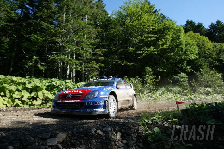 , - Daniel Sordo (ESP) Marc Marti (ESP) Kronos Citroen Xsara WRC.WRC Rally of Japan, 31st August - 2nd S