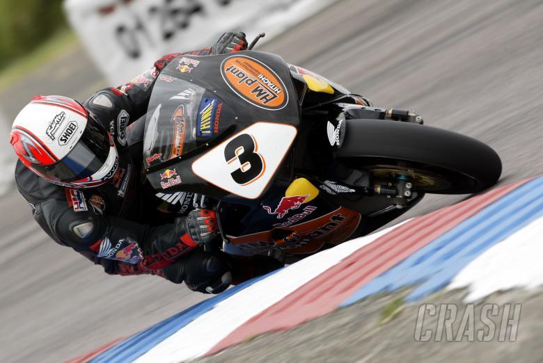 , - Michael Rutter, HM Plant Honda Racing CBR RR