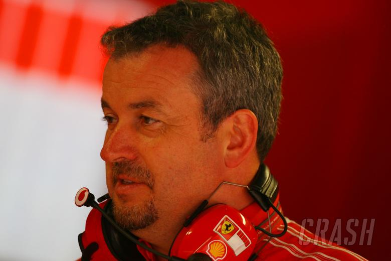 08.09.2006 Monza, Italy, Nigel Stepney (GBR), Scuderia Ferrari, Race technical manager - Formula 1 W