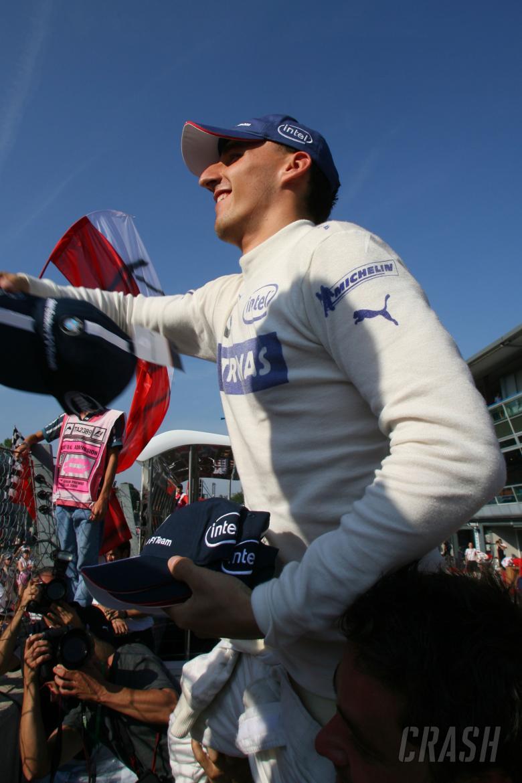 10.09.2006 Monza, Italy, Robert Kubica (POL), BMW Sauber F1 Team - Formula 1 World Championship, Rd