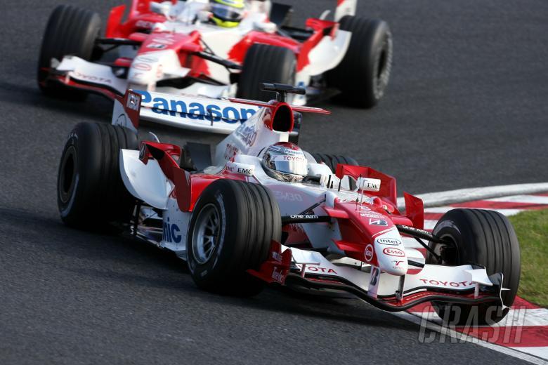 08.10.2006 Suzuka, Japan, Jarno Trulli (I), Team Toyota - Formula 1 World Championship, Rd 17, Japan