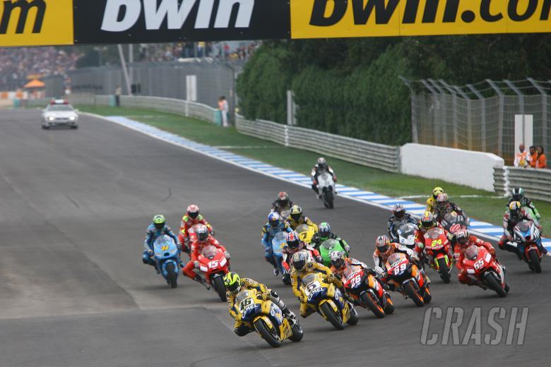 , - Start, Portuguese MotoGP, 2006